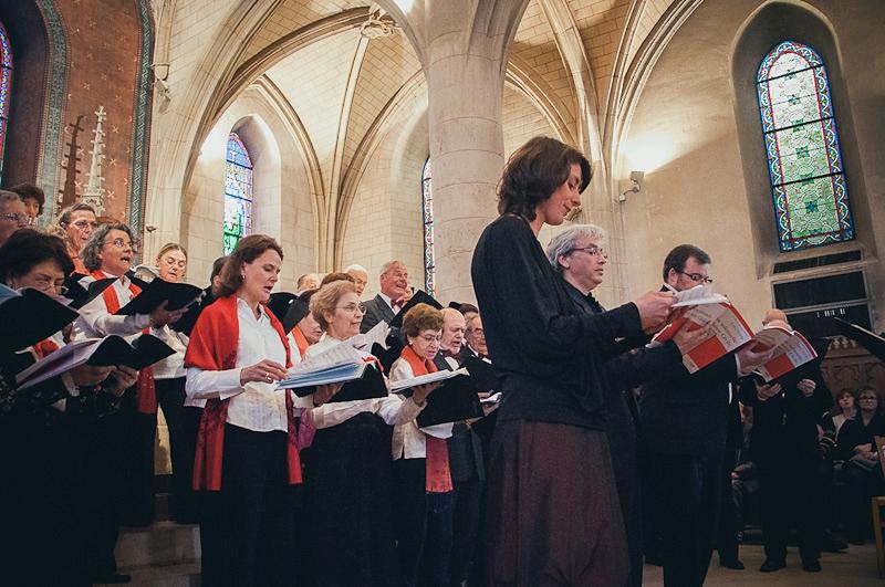 Photographe de mariage Ile-de France : église de Verrières-Le-Buisson