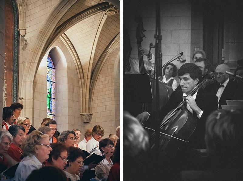 Choristes et Musiciens Eglise de Verrières-Le-Buisson - Photographe de mariage Sylvia Fidalgo